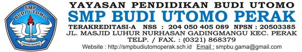 SMP Budi Utomo Perak - Jombang